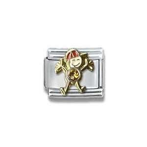 Little Boy Birthstone Little Boy Italian Charm Bracelet Link Jewelry
