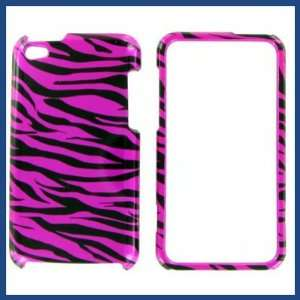 Apple iPod Touch 4 Zebra on Hot Pink Hot Pink/Black