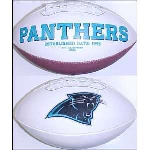 Carolina Panthers Full Size Logo Football