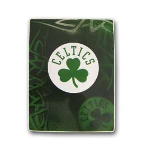 NBA 60 x 80 Super Plush Throw   Boston Celtics