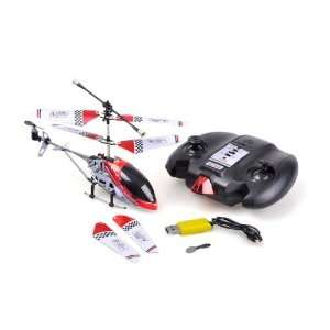 Sky Lanneret USB Cable Remote Control Helicopter Red Toys & Games