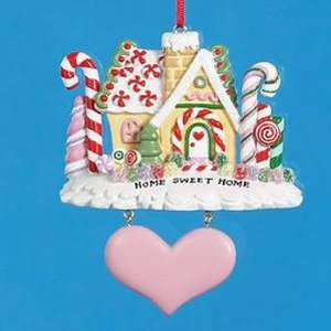 Home Sweet Home Candy Theme Christmas Ornament 4.5