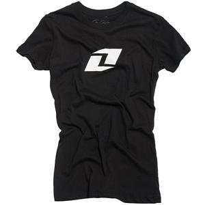 One Industries Womens Numero Uno T Shirt   Medium/Black Automotive
