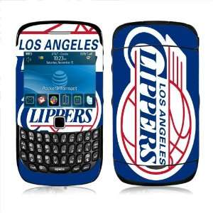 Meestick LA Clippers Vinyl Adhesive Decal Skin for Blackberry Curve