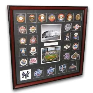 York Yankees World Series Framed Patch Collection