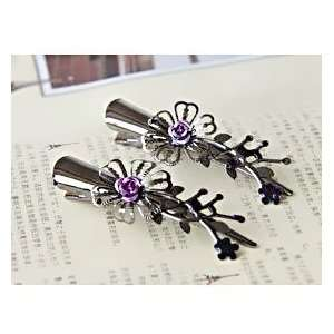 shaped Hair Accessories/Hair Clip Style B, Color Random, Price/Pair