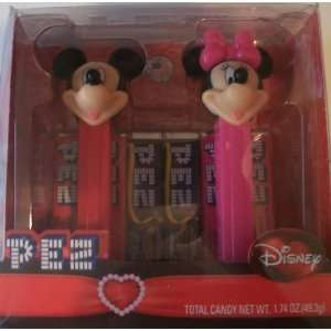 Disney Mickey & Minnie Valentines Day PEZ Set (2009