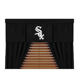 MLB Chicago White Sox 5pc Boys Drapes and Valance Set
