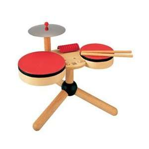 wooden fun drum set Toys & Games