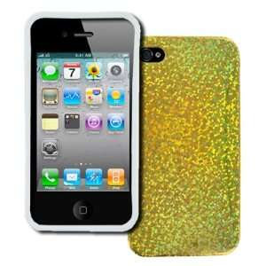 EMPIRE Apple iPhone 4 / 4S Poly Skin Case Cover (Gold