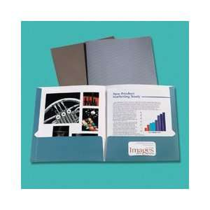 Two Pocket Folders, Gold, 25/Box   Sold By the Box