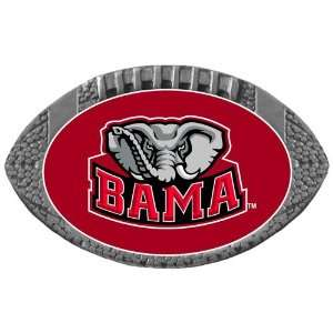 Alabama Crimson Tide NCAA Football One Inch Pewter Lapel