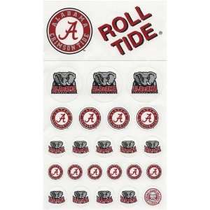 Alabama Crimson Tide Round Decals