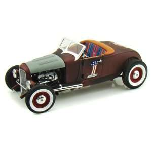 Harley Davidson Ford Rat Rod Convertible Diecast Model Toys & Games