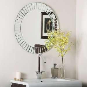 The Glow Modern Frameless Wall Mirror