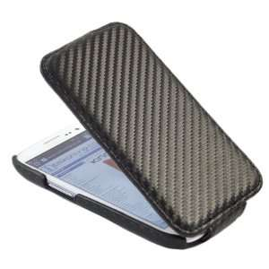 BLACK Clip On Flip Case/Cover/Pouch For Samsung i9300 Galaxy S3 III