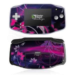 Design Skins for Nintendo Game Boy Advance   Space Flower