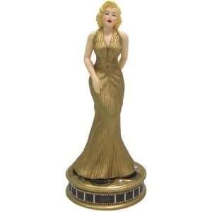 Marilyn Monroe   Marilyn in Gold Dress Figurine