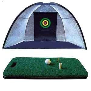 Net/High Tech Golf Mat/Almost Golf Balls/Tees