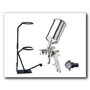 Vaper Gravity Feed H.V.L.P. Spray Gun, 1.7mm Needle and
