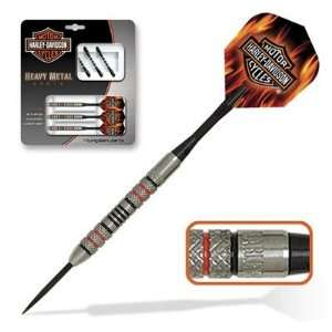 Harley Davidson Darts Heavy Metal Steel Tip Sports