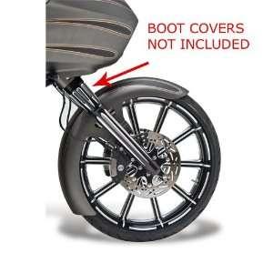 513 Deep Cut Black Lower Leg Set for 2000 07 Harley Davidson Touring