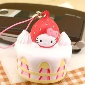 Sanrio Hello Kitty as Sweets Marshmallowy Mascot Cell Phone