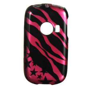 Hot Pink Zebra & Stars Protector Case Phone Cover for