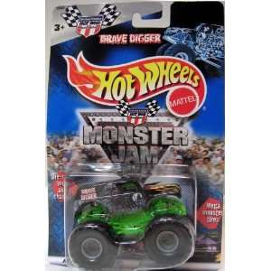 HOT WHEELS GRAVE DIGGER DIE CAST VEHICLE Toys & Games