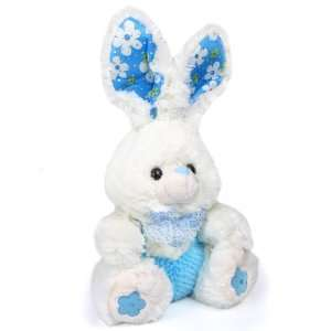 The Big Bunny 12 inch Plush Toy   Blue: Toys & Games