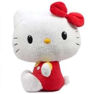 Eikoh Hello Kitty Basic Series Giant Plush   17 Red Toys & Games