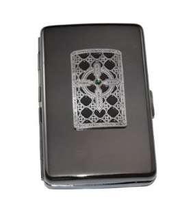 Celtic Irish Cross Cigarette Case/Wallet/Stash Holder