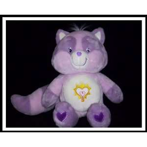 Care Bear Cousins Jumbo BRIGHT HEART RACCOON 22 PLUSH (Collectors