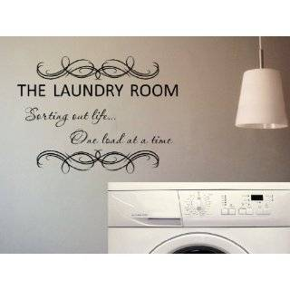 The Laundry Room Sorting Out Life One Load At A Time Vinyl Wall Decal