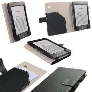 Genuine Leather Case Cover with Metal Insert for New  Kindle