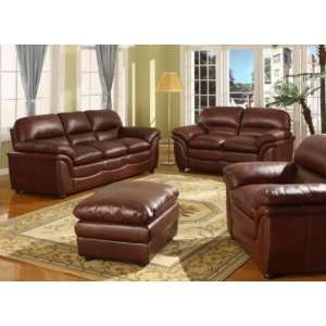Redding 2 Pc Leather Sofa Set by Wholesale Interiors Home