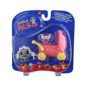 Littlest Pet Shop LPS Pairs Figures Mouse with Bonnet and