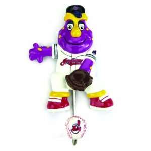 Cleveland Indians MLB Mascot Wall Hook (7) Sports