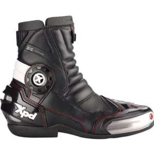 Spidi X One Mens Sports Bike Racing Motorcycle Boots   Black / Size