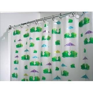 Frog prince vinyl shower curtain home amp kitchen