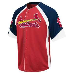 MLB St. Louis Cardinals Youth Cooperstown Wheelhouse Jersey