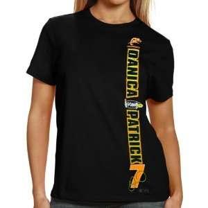 NASCAR #7 Danica Patrick Ladies Black Got the Setup T shirt