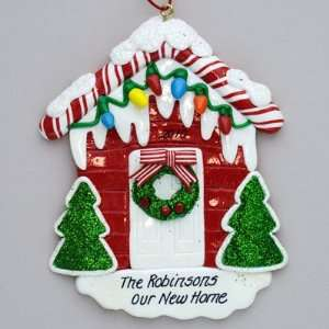 Personalized New Home Christmas Ornament