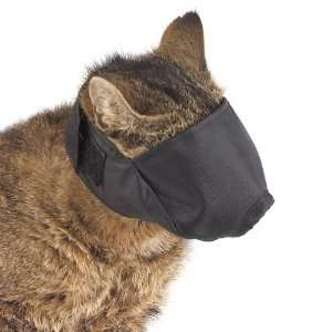 Guardian Gear Nylon Cat Muzzle, Small, Black