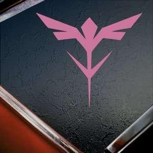 Gundam Pink Decal Neo Zeon Insignia Logo Window Pink