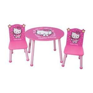 Hello Kitty Princess Table & Chair Set   Color Hot Pink