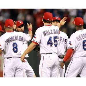 Rangers Win, Texas Rangers, World Series Game 4, 10/23/2011: