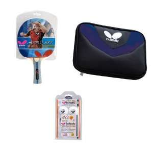 Butterfly Arbalest Expert Table Tennis Racket and Accessory Set