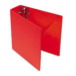 Cardinal   Heavyweight Vinyl Slant D Ring Binder, 3 Capacity, Red