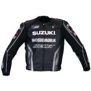 Joe Rocket Suzuki Replica Superbike Mens Leather Motorcycle Jacket
